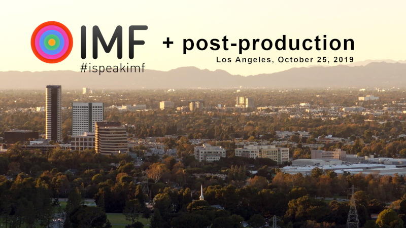 Register today: workshop on preserving and re-purposing studio productions using IMF